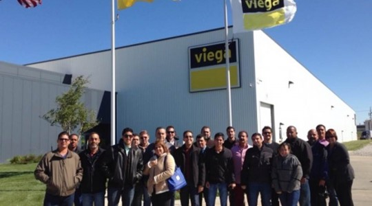Visit to Viega factories